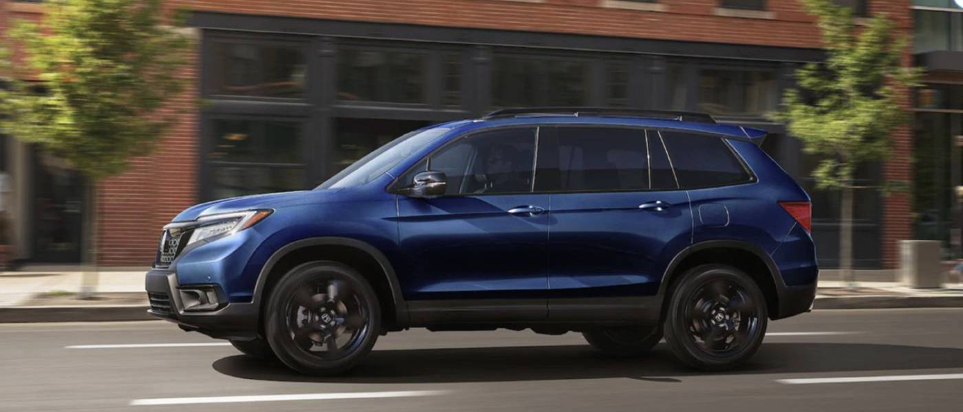2020 Honda Passport Blue