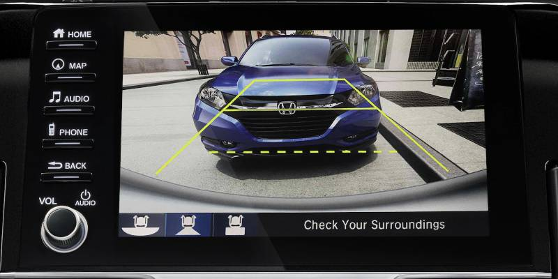 2020 Honda Civic Coupe Multi-Angle Rearview Camera