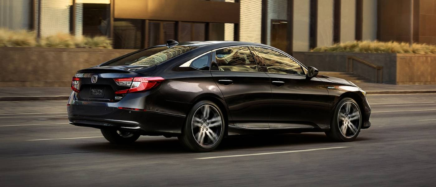 2021 Honda Accord Hybrid Black